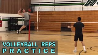 Volleyball Reps with Yang + Kai (Volleyball Practice)