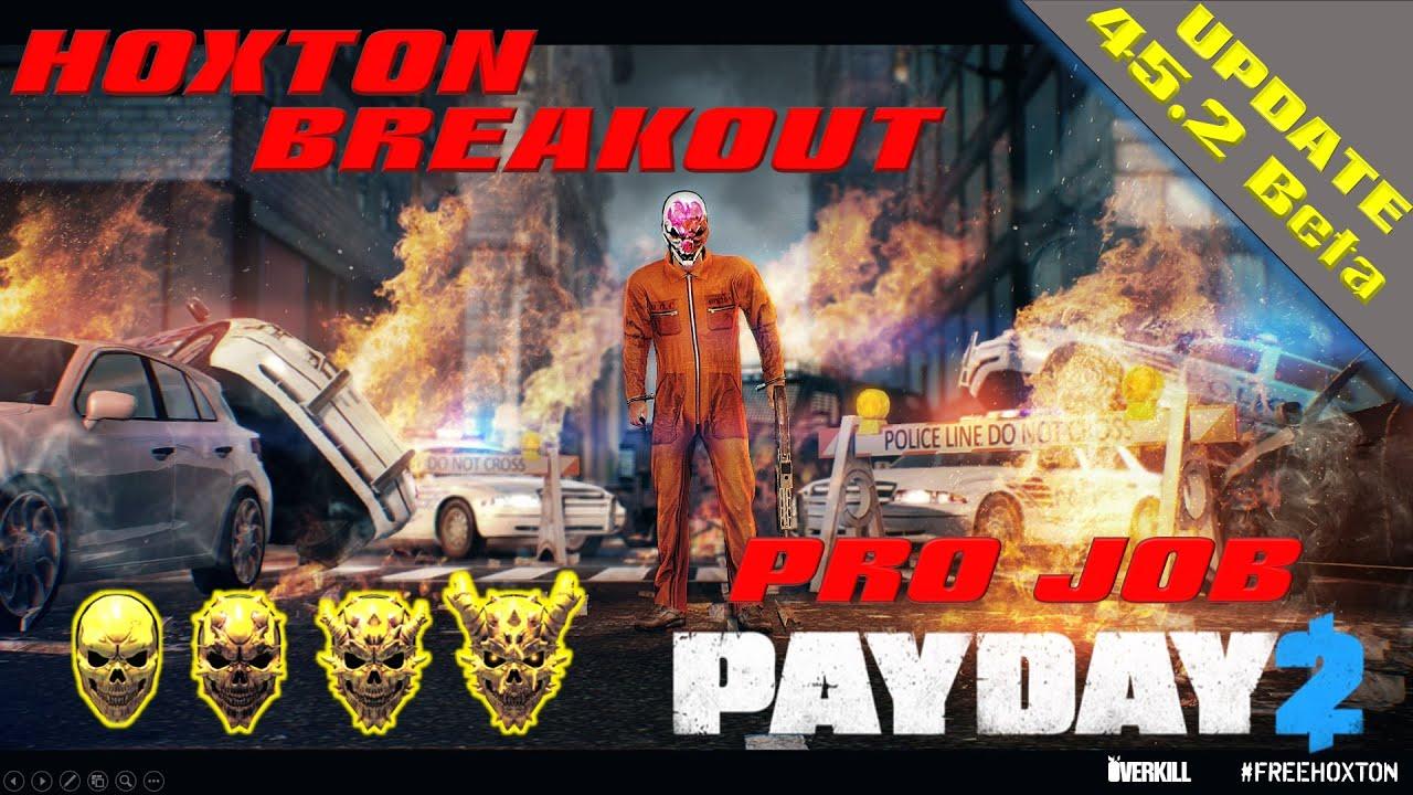 Payday 2 Hoxton Breakout Deathwish Pro The Punisher Build Youtube