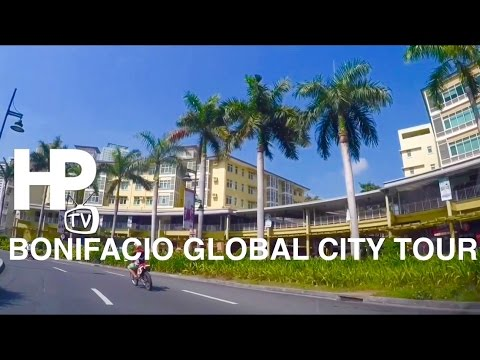 2016 Bonifacio Global City Driving Tour Overview Taguig by HourPhilippines.com
