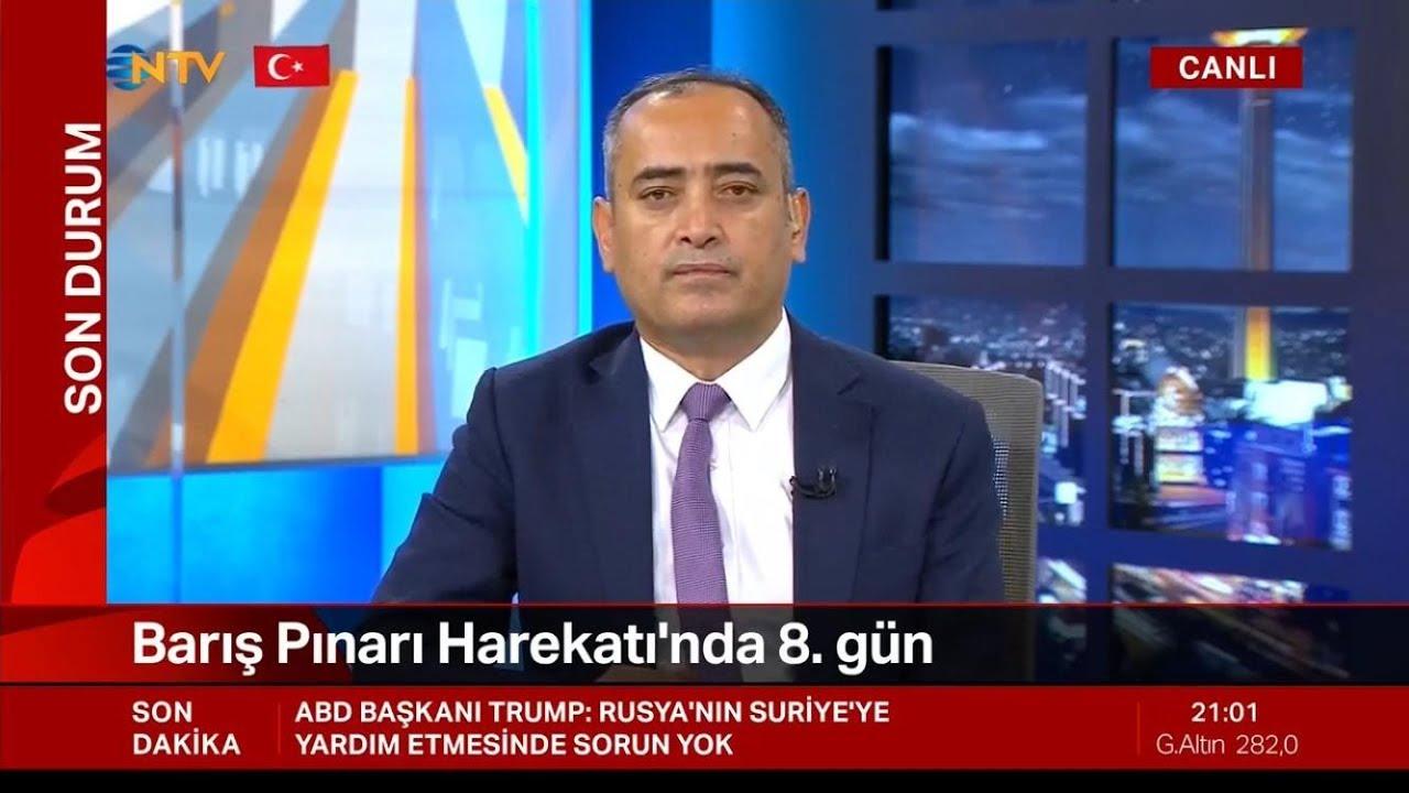 Prof. Dr. Salih Yılmaz - NTV Canlı Yayın Barış Pınarı Harekatı Özel - 16.10.2019
