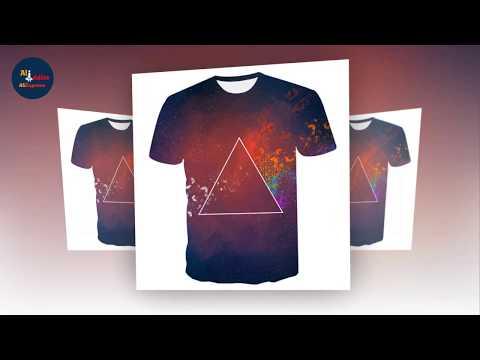 3D Print Animal Cool Funny T Shirt Men | AliExpress | AliAddicts