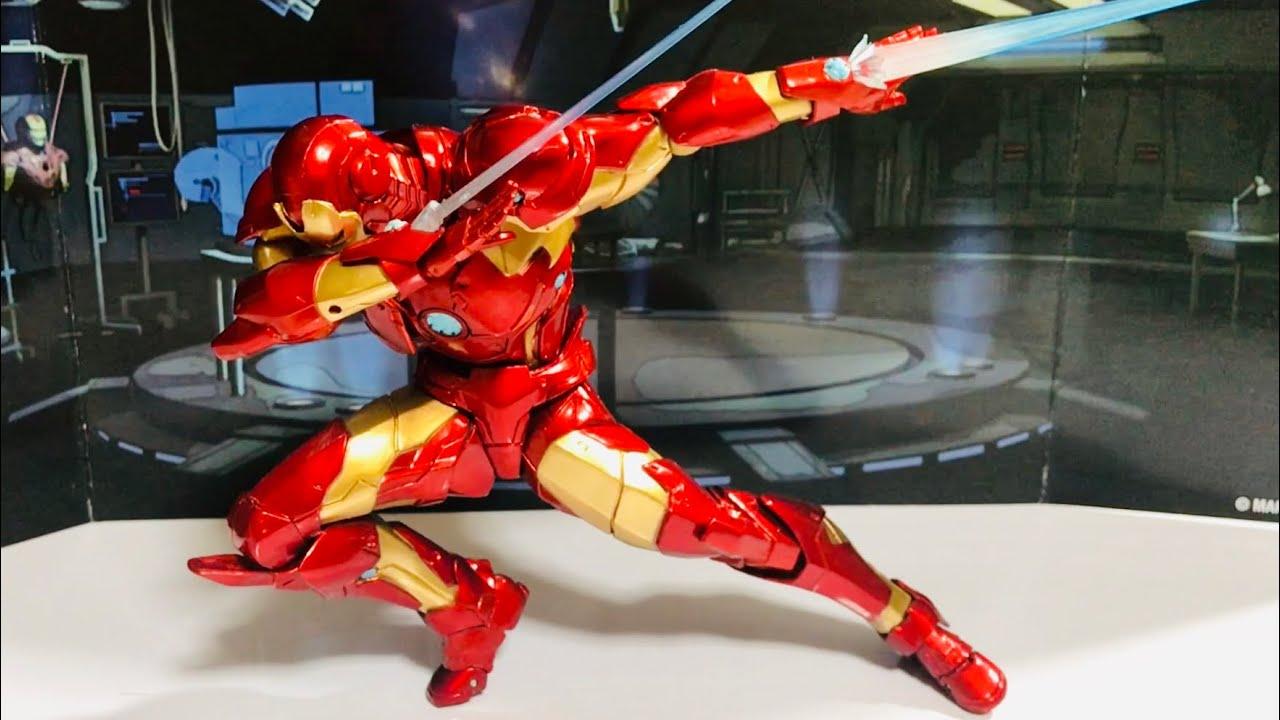 Amazing Yamaguchi No 13 Bleeding Edge Armor Iron Man Revoltech アメイジングヤマグチ アイアンマン Youtube