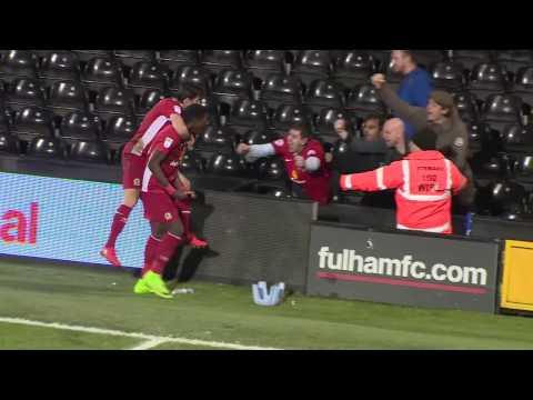 Highlights: Fulham 2 Blackburn Rovers 2