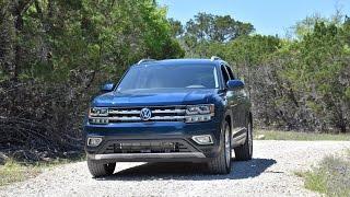 2018 Volkswagen Atlas Test Drive
