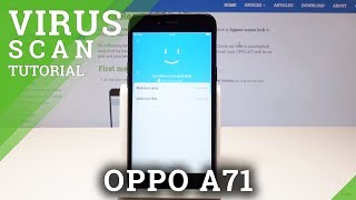How to Perform Virus Scan in OPPO A71 - Anti-Virus / Security Scan