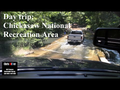 Day trip/ride along: Chickasaw National Recreation Area