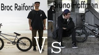 """BMX""- GAME OF INSTAGRAM COMPILATION #1 BRUNO HOFFMAN VS BROC RAIFORD- 