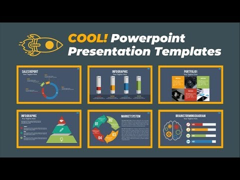 2 Cool Powerpoint Presentations Template Powerpoint Design Master - Presentations Template