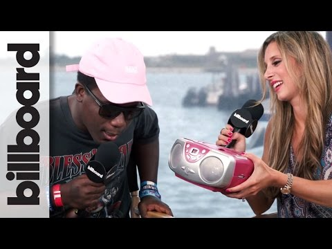 Skizzy Mars Takes The 90s TV Show Theme Song Challenge! | Billboard Hot 100 Fest 2016