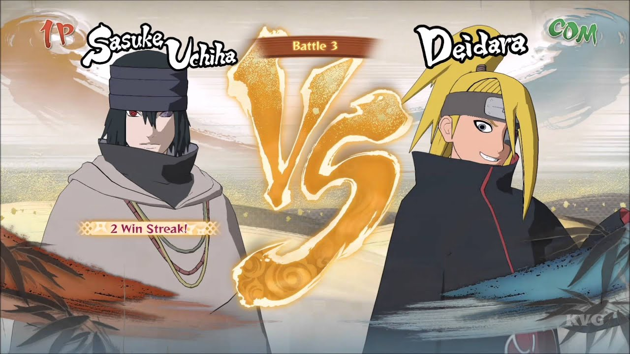 Naruto Shippuden Ultimate Ninja Storm 4 Sasuke Uchiha The Last Gameplay Xboxone Hd 1080p60fps