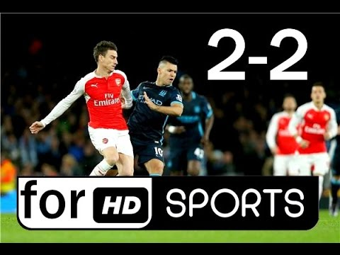 Download Arsenal vs Manchester City 2-2 Highlights & Goals 2/4/2017 آرسنال - مانشستر سيتي