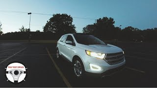 2017 Ford Edge Titanium V6 ROAD TEST / REVIEW & 0-60