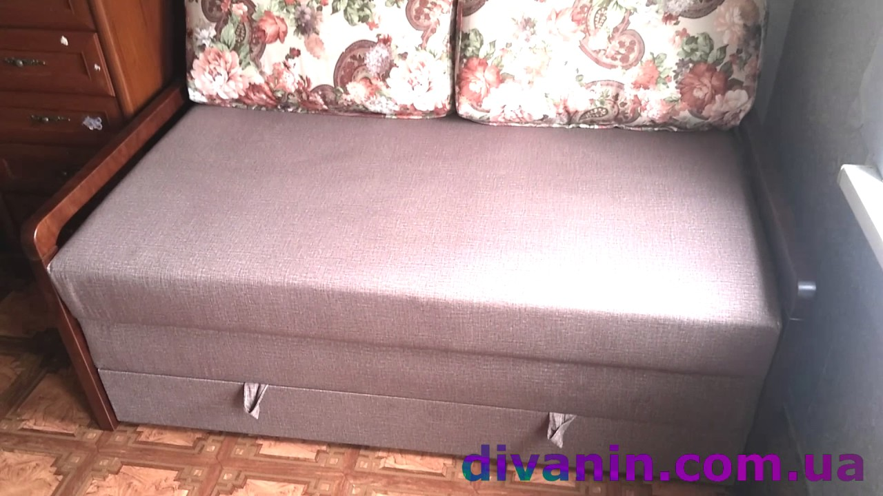Диван кровать Соната ADK Cristi - YouTube