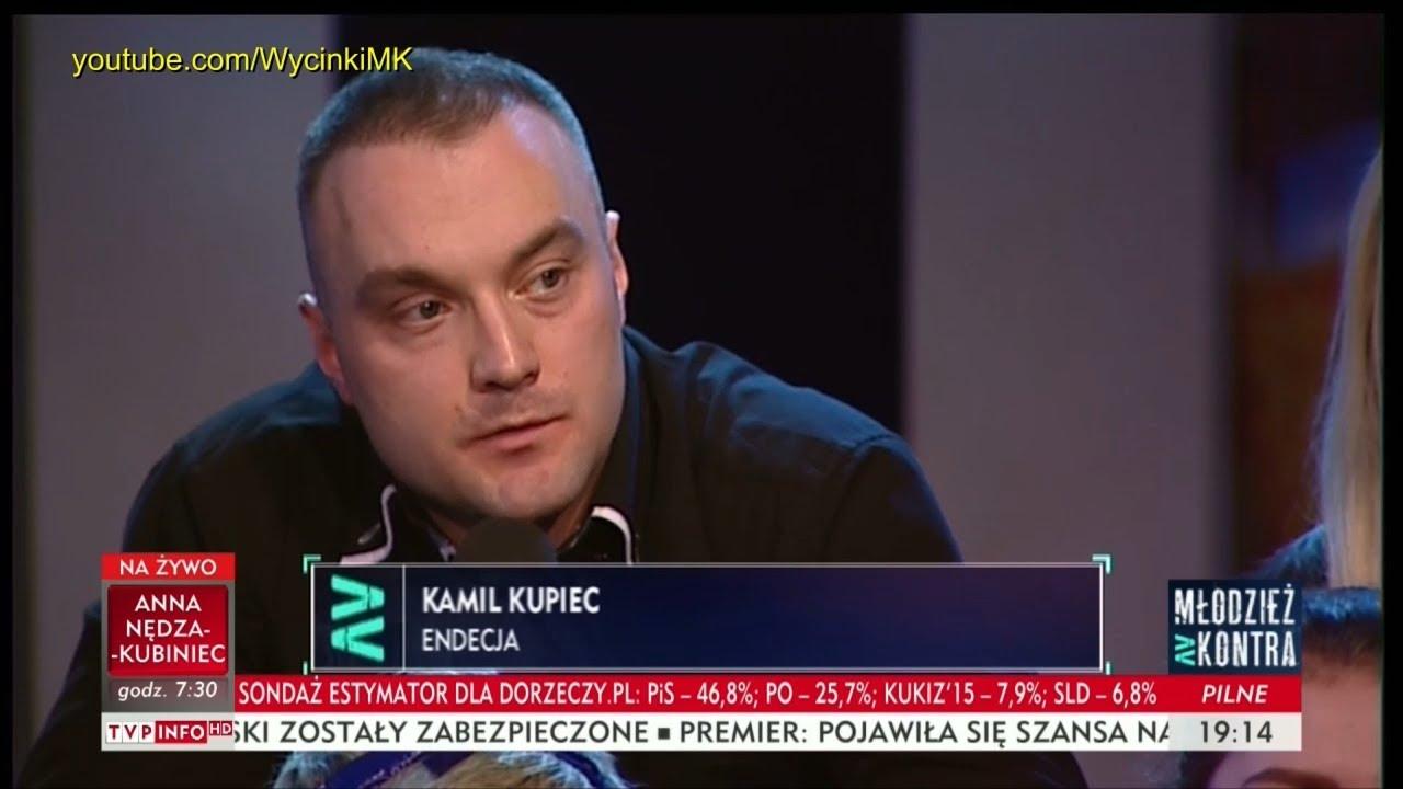 Młodzież kontra 634: Kamil Kupiec (Endecja) vs Agnieszka Ścigaj (Kukiz'15) 24.03.2018