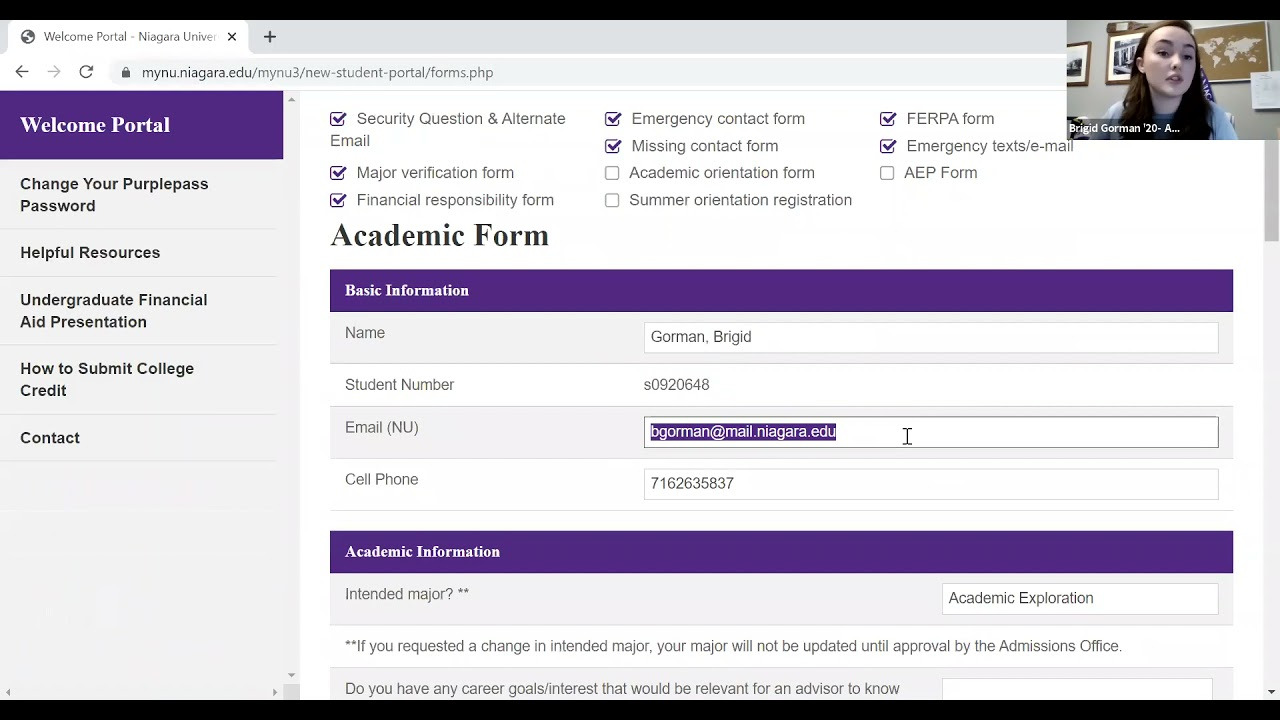 New Student Welcome Portal Webinar | 05.17.21