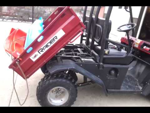 utility vehicle rider farm pro for sale youtube. Black Bedroom Furniture Sets. Home Design Ideas
