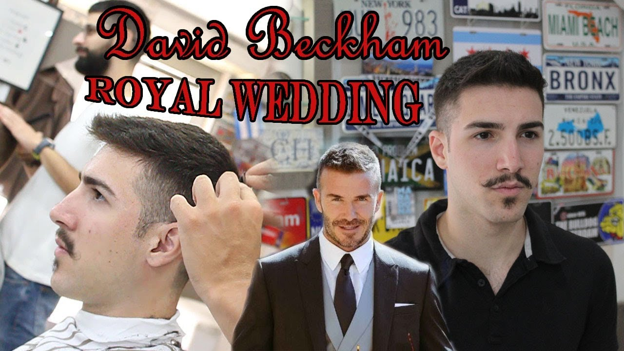 David Beckham Royal Wedding Hairstyle The Wedding Of Prince Harry