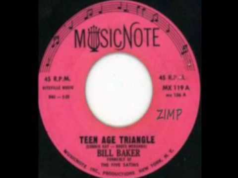 BILL BAKER   TEENAGE TRIANGLE