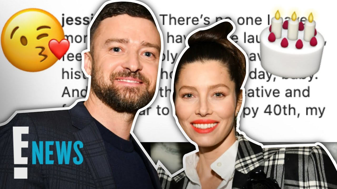 Jessica Biel Sends Sweet Birthday Message to Husband Justin Timberlake