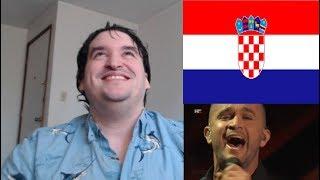 "Sloth Reacts Croatia Eurovision 2020 Damir Kedžo ""Divlji vjetre"" REACTION"