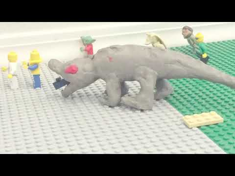 LEGO Monster Attack At The beach