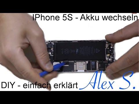 IPhone 5S Akku wechseln, austauschen, reparieren in 10 min auf Deutsch