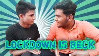 LOCKDOWN IS BACK | comedy skit | Funny video | MP-10 wale | AFFRU VINES | #Nimadicomedy