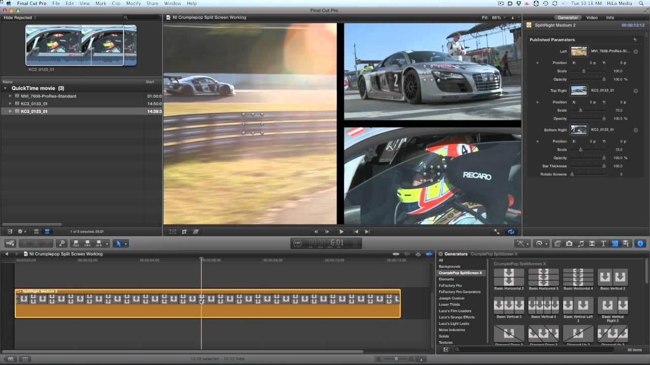 splitscreen effects for final cut pro x youtube rh youtube com Altar Server Manual Network Server Manual