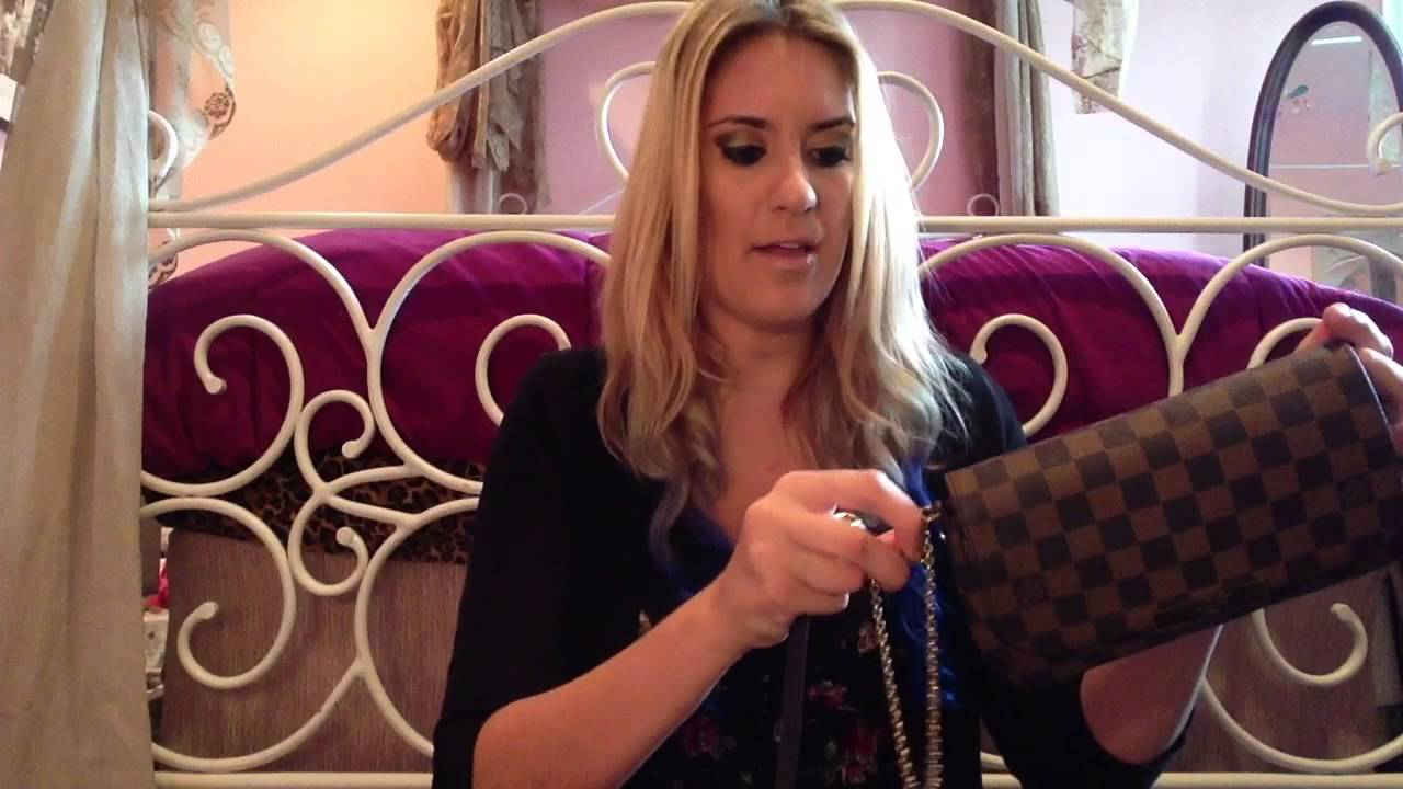 40a4c7d8ae6f Review  LV Favorite - Best Going Out Cross Body Bag - YouTube