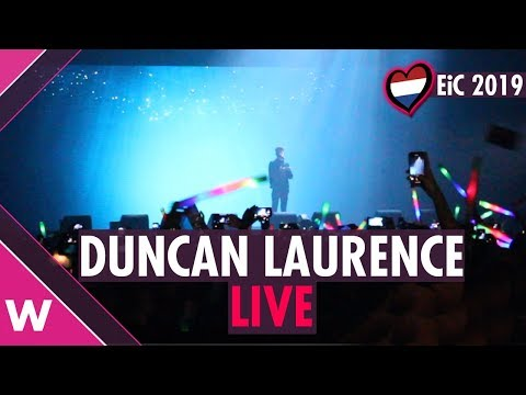 "Duncan Laurence ""Arcade"" (The Netherlands)  LIVE @ Eurovision in Concert 2019"