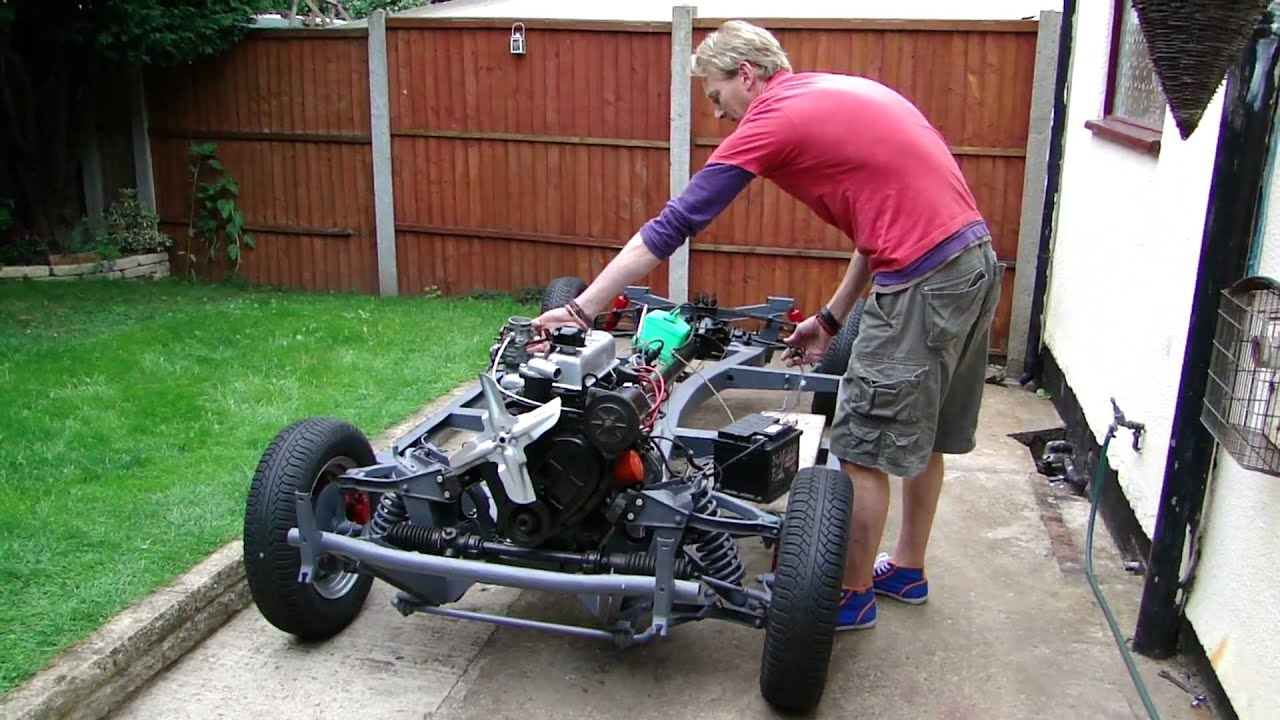 Kit Car Triumph Rolling Chassis Youtube