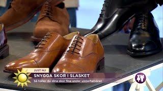 Snygga skor i slasket - Nyhetsmorgon (TV4)