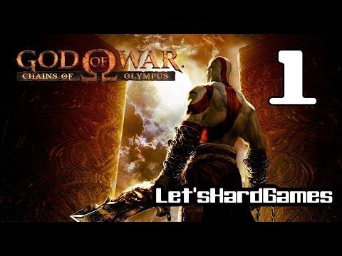 Прохождение God of War: Chains of Olympus HD #1 Врата Аттики, Павшая Крепость [Spartan/Hard]