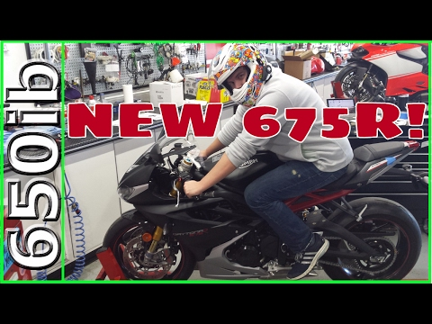 He BOUGHT My Bike! | Triumph Daytona R