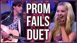 Dove Cameron Sings Prom Fail Tweets w/ Ryan McCartan