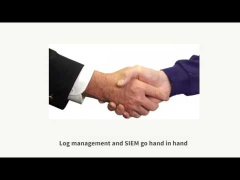 Log management best practices for SIEM