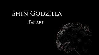 Fanart — Shin Godzilla (シン・ゴジラ)