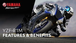 Yamaha YZF-R1M Features & Benefits