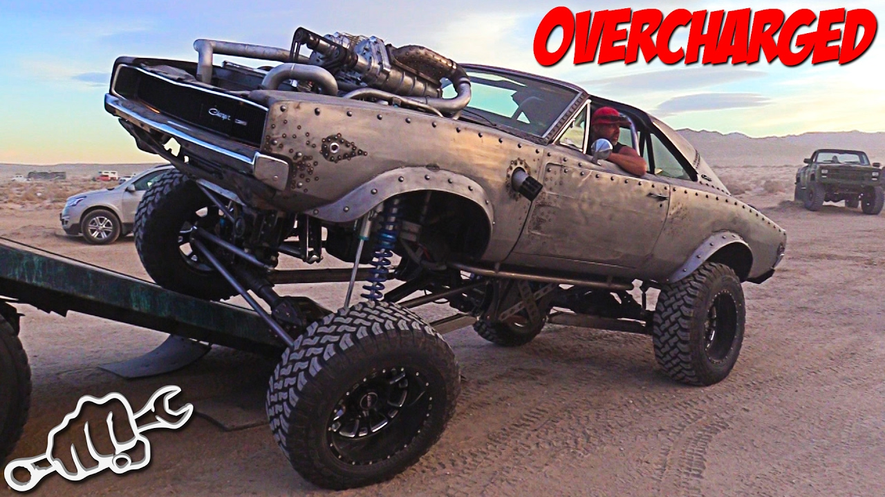 Project OVERCHARGED - WelderUp sel Rat Rod Dodge Charger - YouTube
