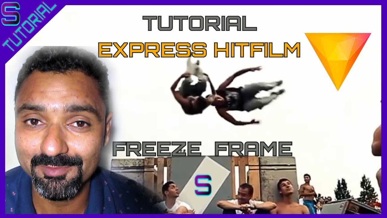 Tutorial efeito FREEZE FRAME no HITFILM EXPRESS - YouTube
