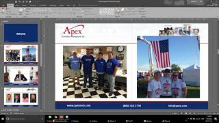 Powerpoint Tips and Tricks  |  Apex  |   (800) 310-2739