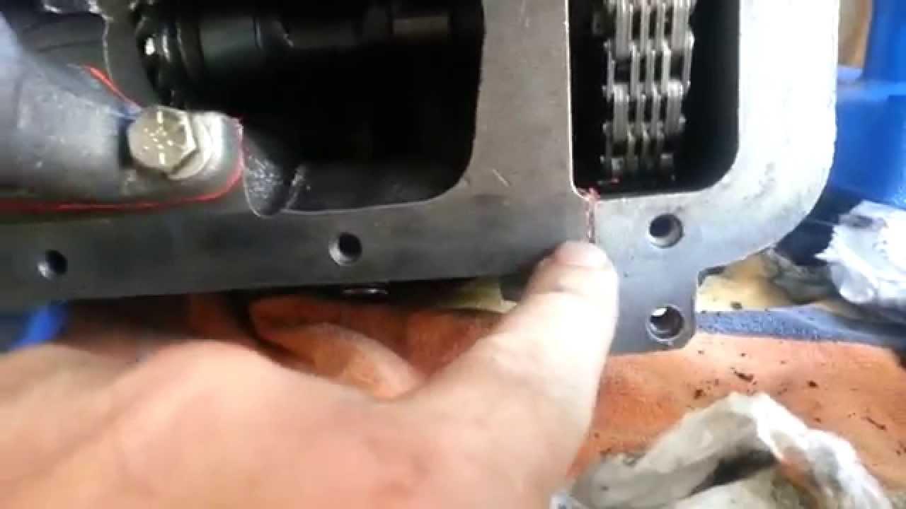 Installing oil pan gasket in 1967 mustang 200 6cyl  YouTube