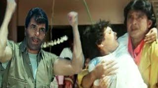 Dharmendra, Mithun Chakraborty. Hum Se Na Takrana - Action Scene 2/14