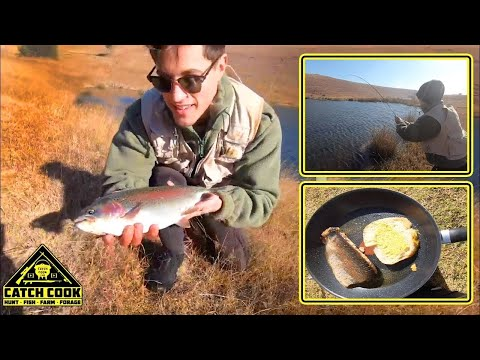 Challenging Flyfishing In Dullstroom [CATCH COOK] Dullstroom, Mpumalanga, South Africa