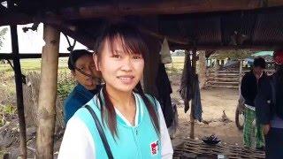 คุยกับสาวไทใหญ่บ้านฝายเวียงพูดไทยชัดมาก Tai Yai girl speak Thai very well