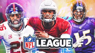 I joined a league with all NFL players, here's the Top 4 best games!!