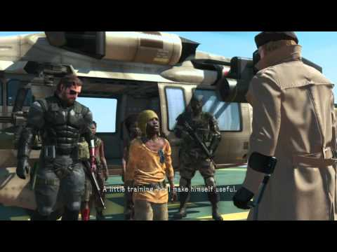 MGSV TPP / Child Soldiers arrived at MB Cutscene