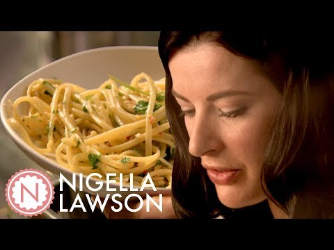 Nigella Lawson's Crab Linguine With Chilli And Watercress | Forever Summer With Nigella