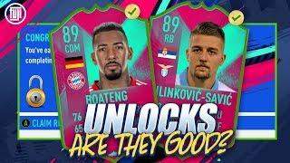*FREE* UNLOCKS! WORTH THE GRIND? FUT BIRTHDAY 89 MILINKOVIC SAVIC & 89 BOATENG FIFA 19 Ultimate Team