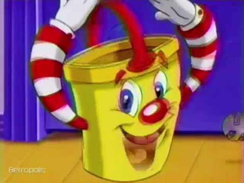 Mr. Bucket Game by Milton Bradley 1997